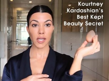 Kourtney Kardashians Beauty Secret