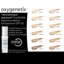 Oxygenetix 12 shade sampler